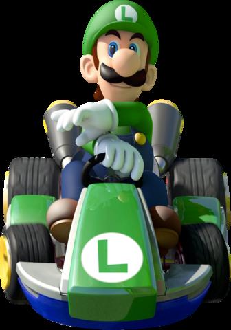 Mario Kart 8 - Luigi | oprainfall