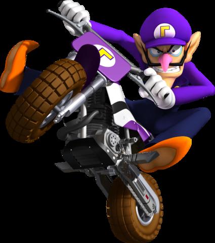 Mario Kart 8 - Waluigi | oprainfall