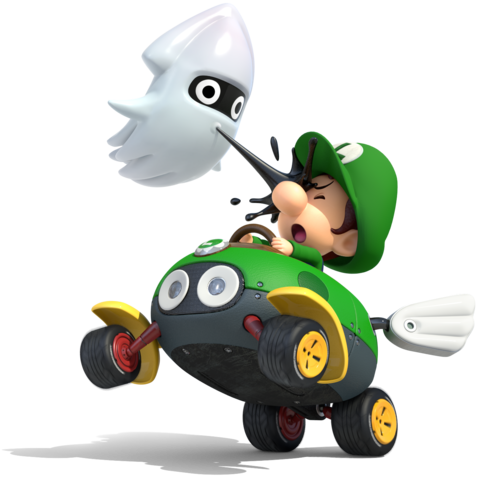 Mario Kart 8 - Baby Luigi
