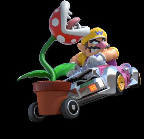 Mario Kart 8 - Wario | oprainfall