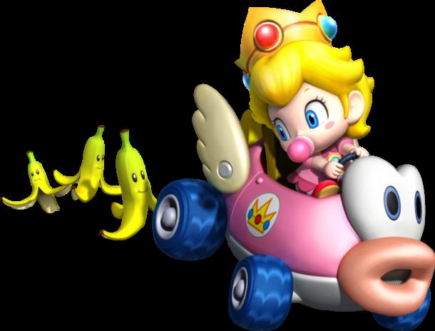 Mario Kart 8 - Baby Peach | oprainfall