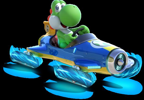 Mario Kart 8 - Yoshi | oprainfall