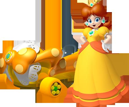 Mario Kart 8 - Daisy | oprainfall
