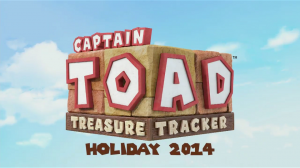 E3 2014 Nintendo - Captain Toad Treasure Tracker - Logo