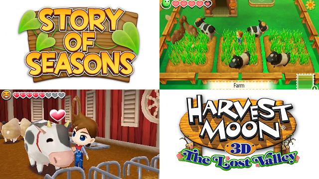 MUSINGS: Harvest Moon: Tracking a Split Franchise - opr