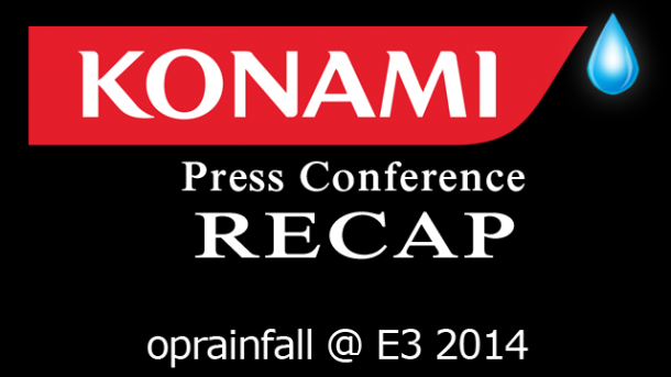 Konami Press Conference