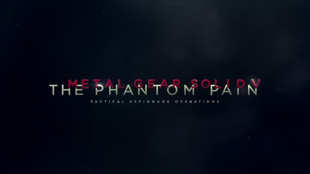 Metal Gear Solid V: The Phantom Pain - Logo