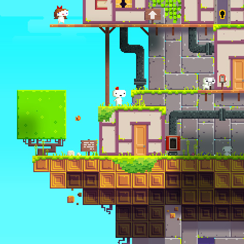 Let's Players - FEZ | oprainfall
