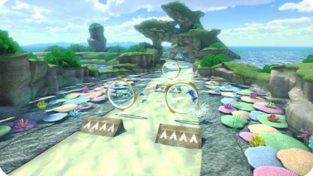 Mario Kart 8 - Dolphin Shoals | oprainfall