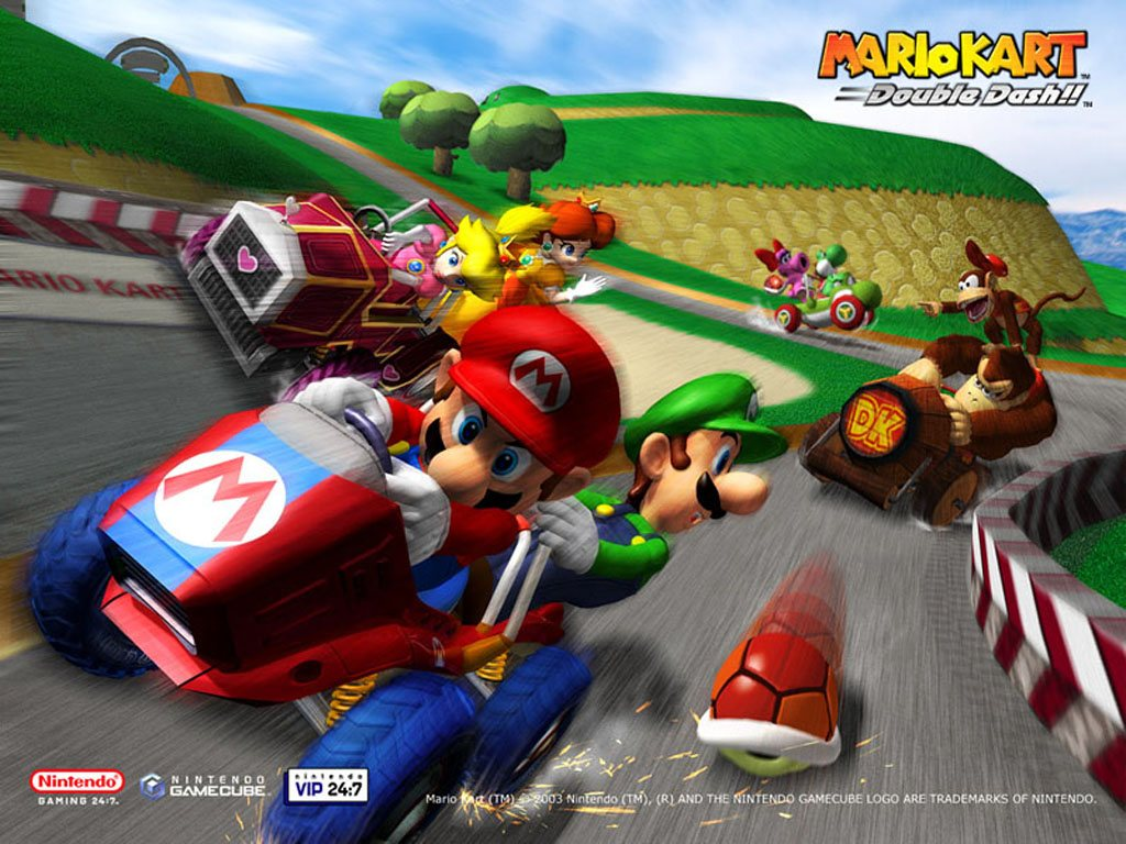 pics photos mario kart double dash wallpaper