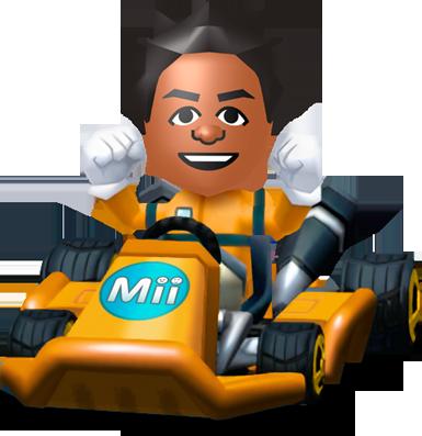 Mario Kart 8 - Mii | oprainfall