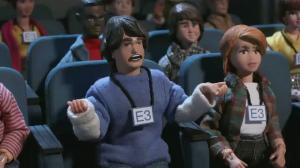 Nintendo Audience Robot Chicken