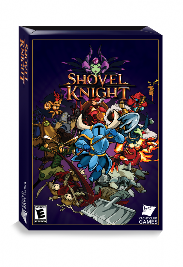 Shovel Knight Box Art - Front