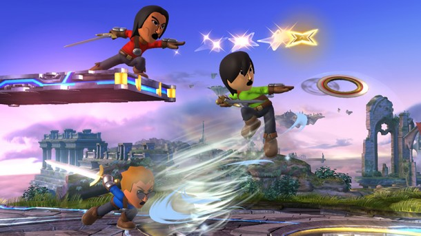 Smashing Saturdays: Super Smash Bros. - Mii Fighter projectiles | oprainfall