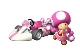 Mario Kart 8 - Toadette | oprainfall