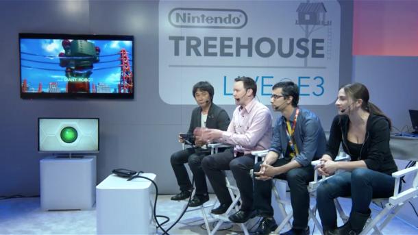 Nintendo Treehouse Live - E3 2014 | oprainfall