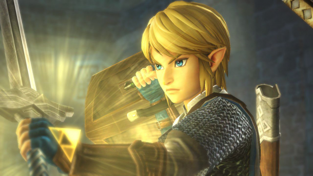 Link and Triforce Glow | Hyrule Warriors