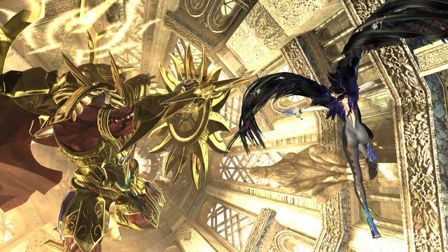 New screenshots for <i>Bayonetta 2</i> show off the game's single- and multiplayer modes.