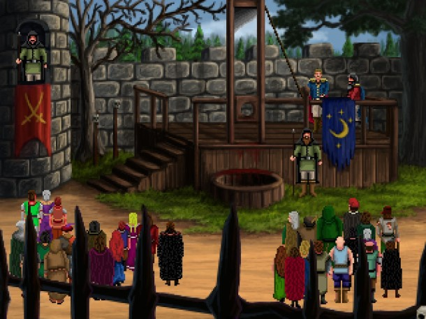 Quest for Infamy | Volksvile Gallows