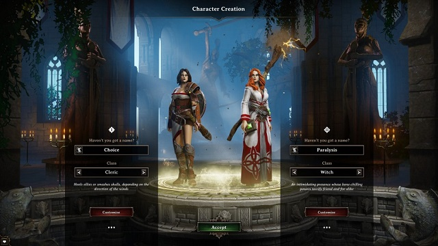 Divinity Original Sin | Character Creation