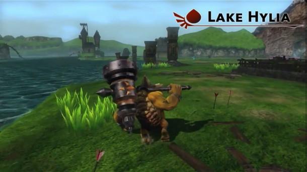 Hyrule Warriors - Lake Hylia