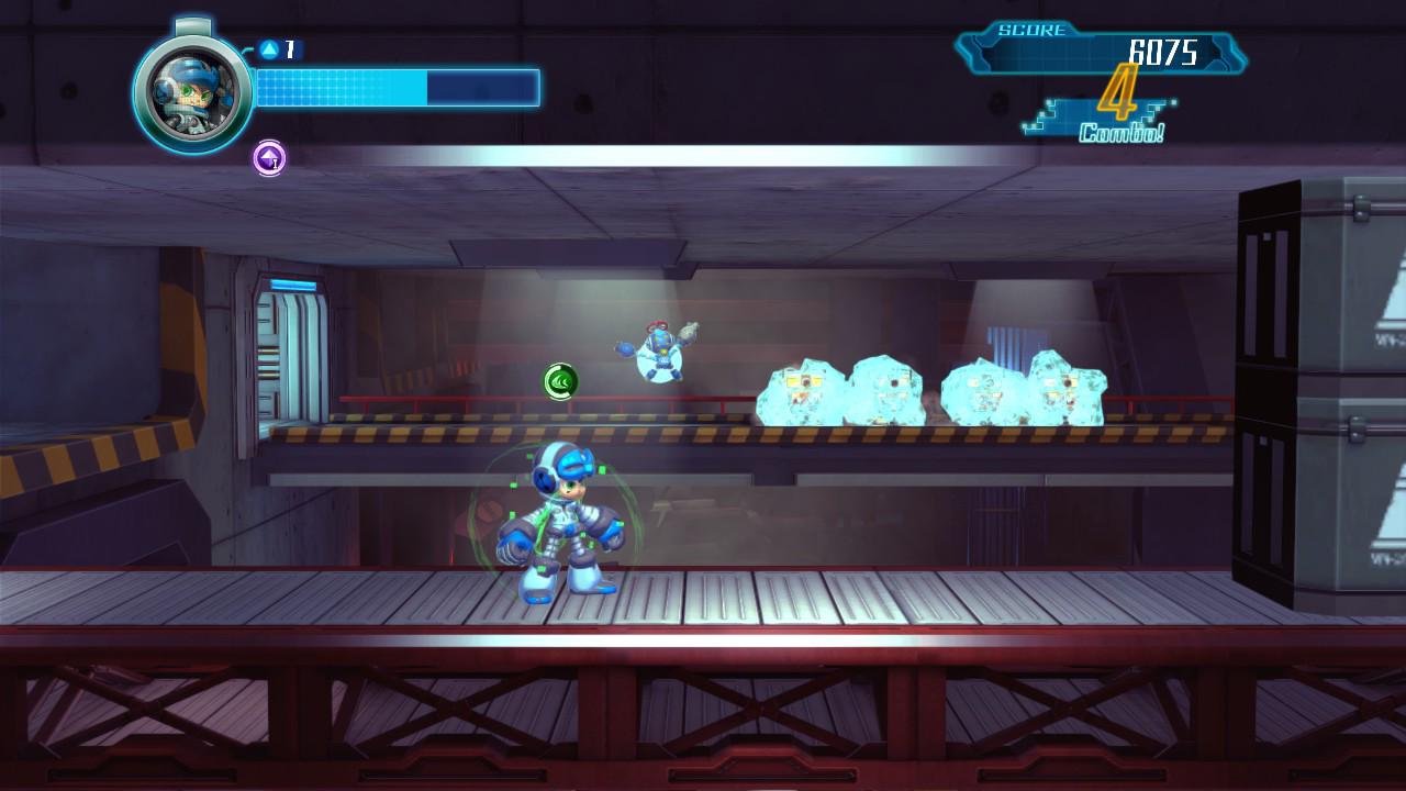 Výsledek obrázku pro mighty no 9 screenshots