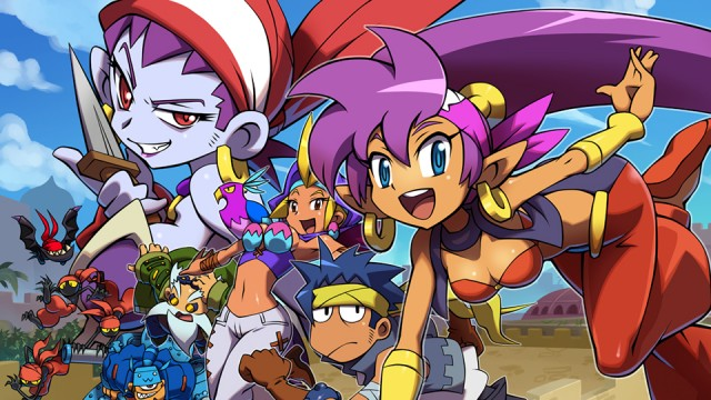 Set sail with Risky Boots and save the day with Shantae!