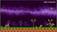 Platinum's new Bayonetta news turns out to be a Bayonetta 8-bit browser game.
