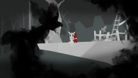 A dark, atmospheric puzzle-platformer.
