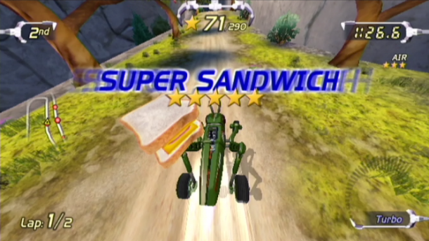 Gaming Crossroads I Super Sandwich