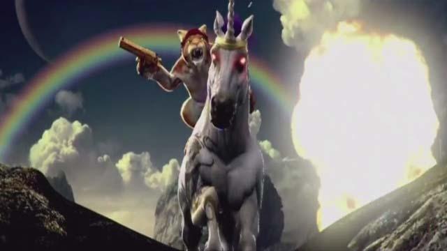 E3 2015 a cat riding a unicorn in new trials fusion dlc - Trial fusion unicorn ...
