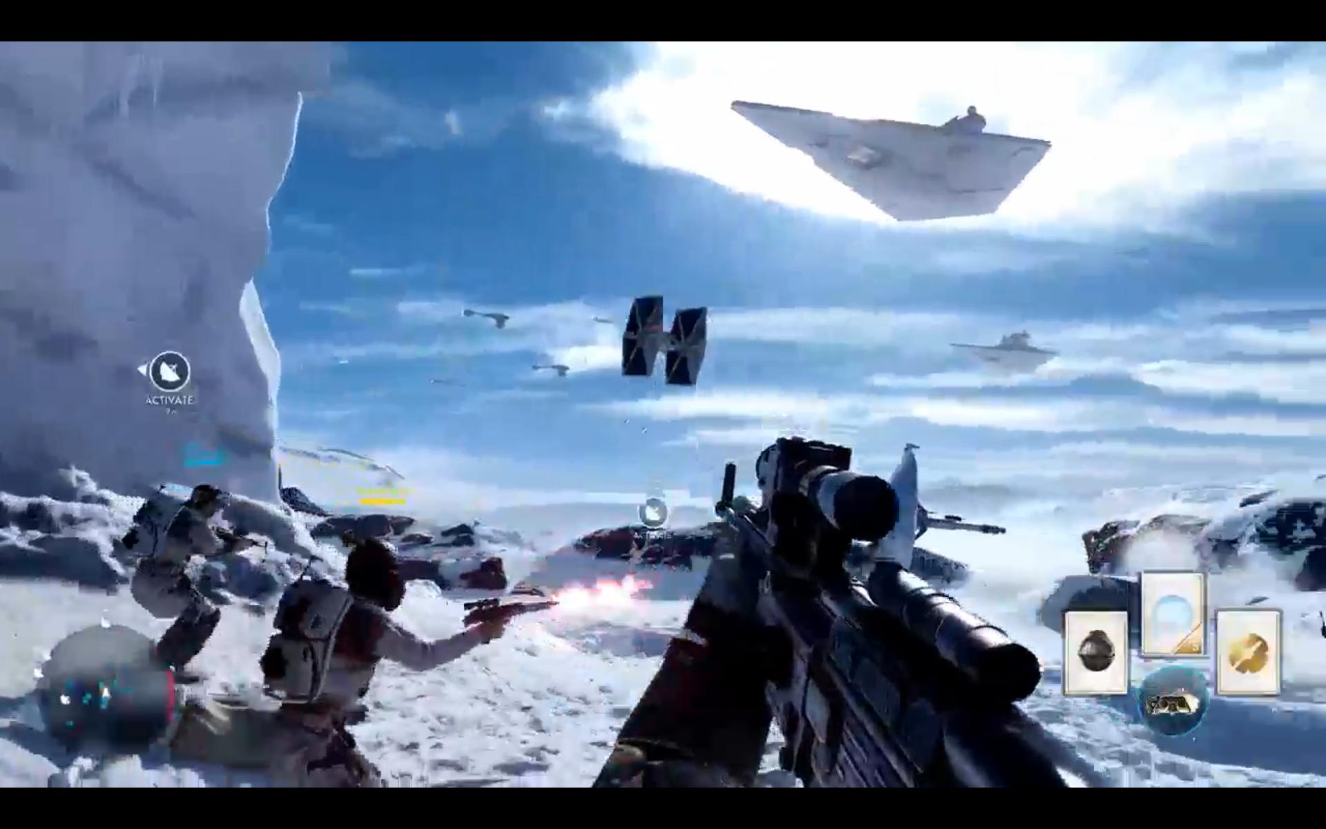 e3 2015 star wars battlefront gameplay oprainfall. Black Bedroom Furniture Sets. Home Design Ideas