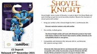 Rumors of a Shovel Knight amiibo seem to be true.