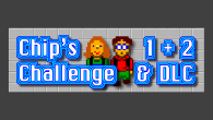 Today, let's take a look at a pair of retro puzzle games called Chip's Challenge and Chip's Challenge 2. Their depth will keep you busy for a long time.