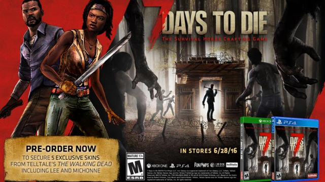 Pr 7 days to die gets xbox one ps4 date oprainfall for Cocinar en 7 days to die ps4