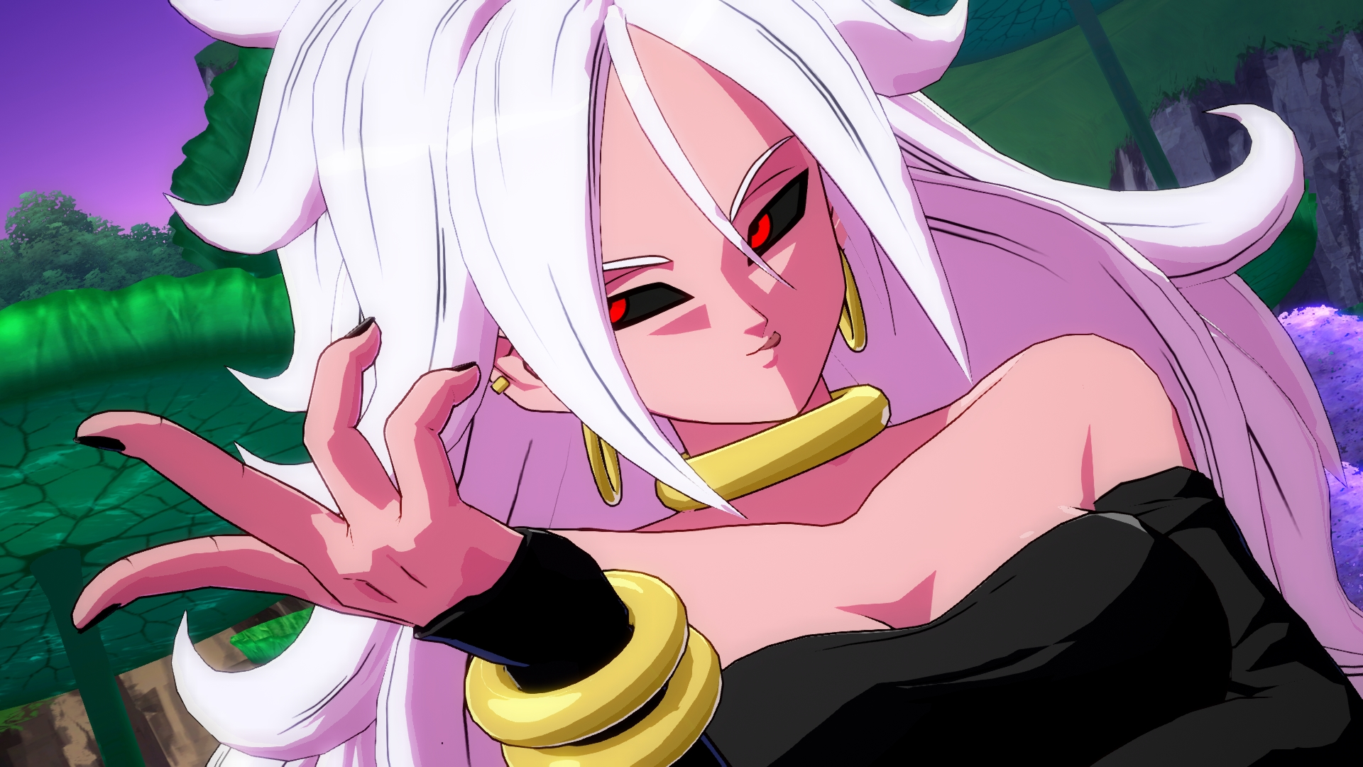 Dragon ball fighterz showcases android 21 in action - Dragon ball z 21 ...