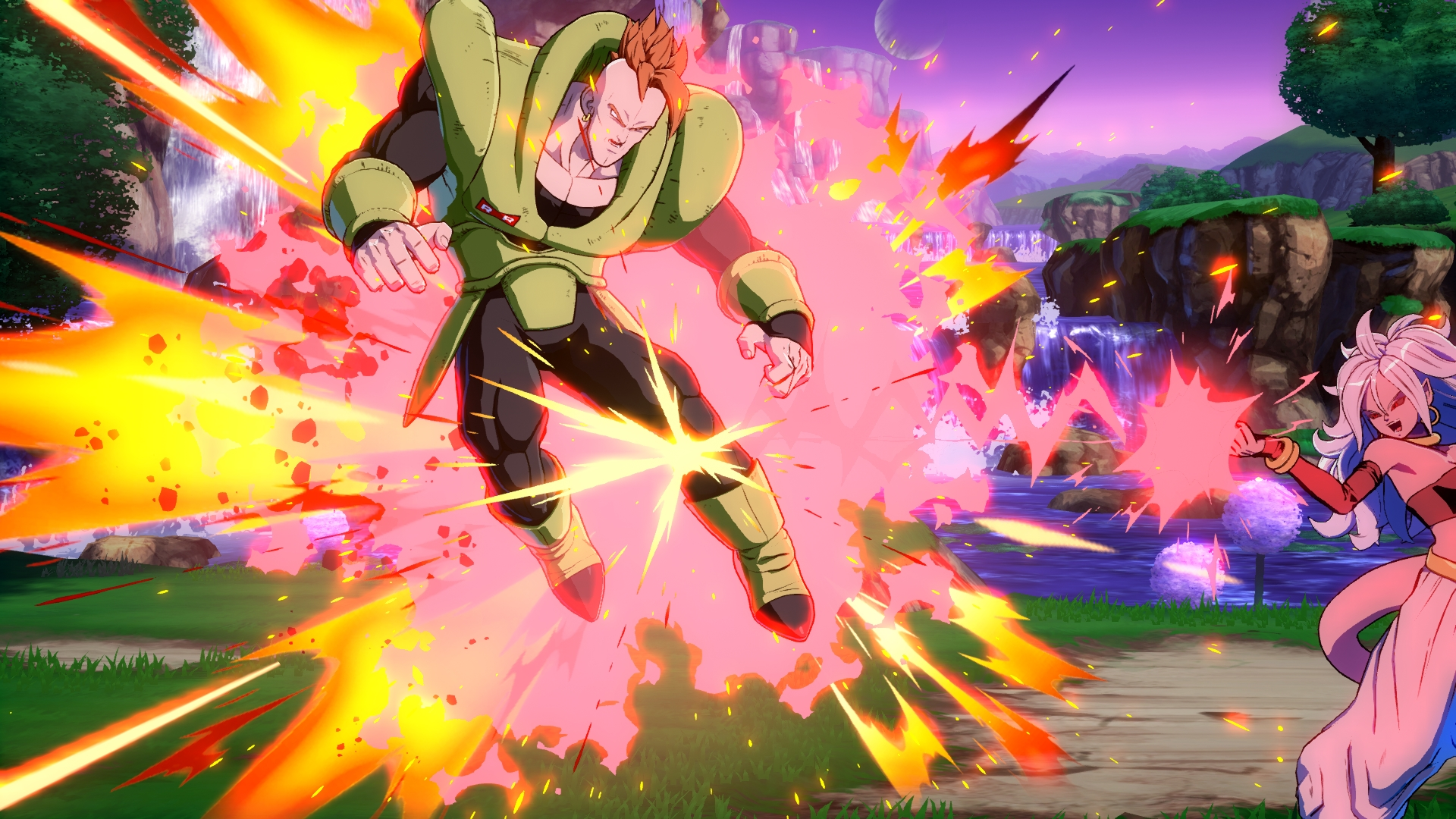 Dragon ball fighterz showcases android 21 in action oprainfall - Dragon ball z 21 ...