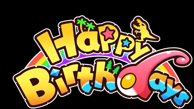 Happy Birthdays Arriving To Nintendo Switch
